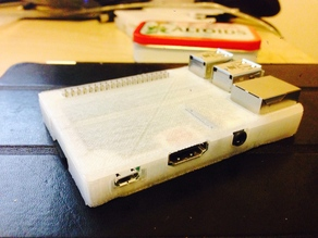 A very compact Raspberry pi B+ and Pi 2 case