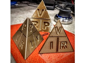 Ohm's Law / Joule's Power Law Pyramid (Tetrahedron)