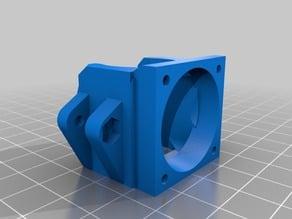 Fan holder/mount & fan duct for E3D v6 / Kossel