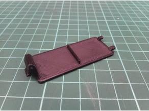 ECG TV remote controler battery cover