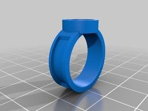 Runescape - Asylum Surgeons Ring (Size M 1/2)
