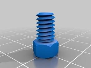 1/4-20x3/8 Small head bolt