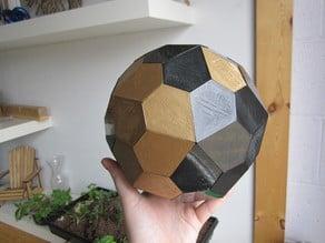Pentagonal Hexecontahedron Magnetic Tile