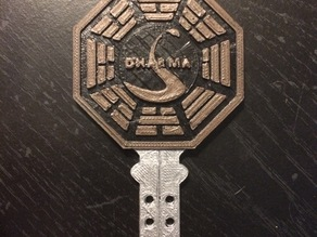 "Dharma Initiative Key from ""Lost"""