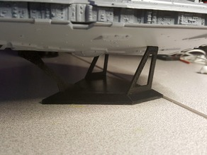 Star Destroyer Model Stand