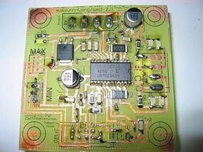 Renoir's RepRap Single-Sided Stepper Driver board v2.3