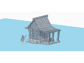 Small Shed 28mm scale