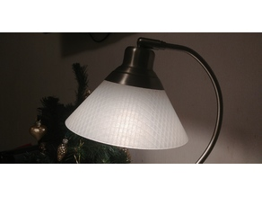 Replacement shade for IKEA lamp Kroby