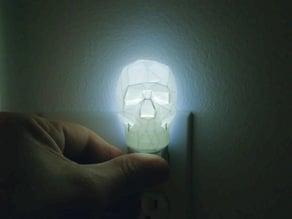 Night Light - Low Poly Skull