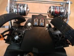 Electric Mountainboard - Enclosure for EZRun Max 6 ESC / Trampa deck