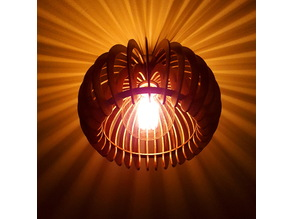 Ribbed Light Shade