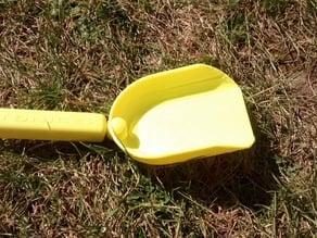 Sand toy shovel