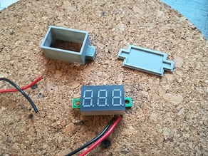 Electronic voltimeter case