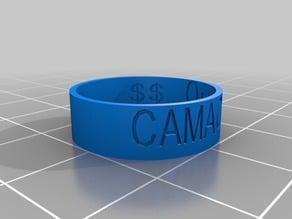 My Customized Ring - camacho