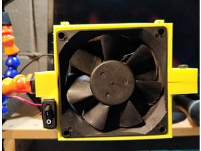 Helping Hands - 80mm Fan Holder