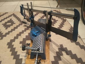 Replacement guide for miter saw