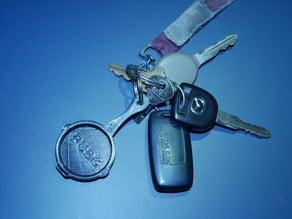 PUBG Pan Keychain