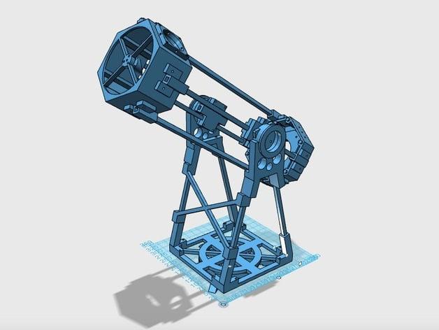 Hexonian 6 Printable Dobsonian Telescope by chinzynator