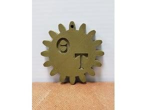 Theta Tau Medallion