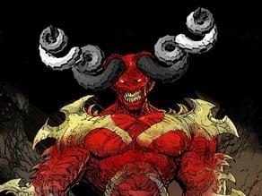 Customizable Parametric Demonic Horns