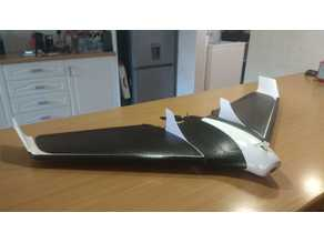 Parrot Disco fin and skids combined