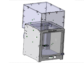 Ultimaker 2 door and enclosure