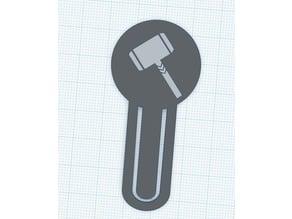 Thor's Hammer Bookmark