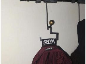 Coat Hanger from tab for Vans