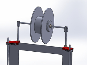 Filament holder / Material coil support prusa i3