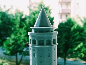 Galata Tower - Solid Repaired Version