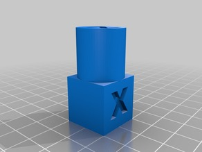 Cylinder and cube calibration object