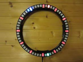 Runde Neopixel Uhr (WS2812B)