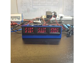 LED display mount (for ammeter, temp display, etc)