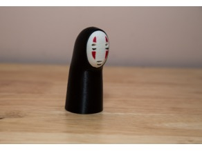 Kaonashi Figure remixed without hands - Spirited Away