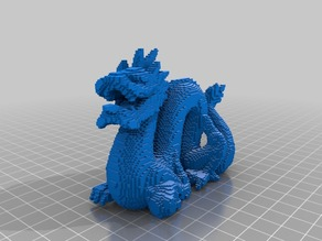 Voxel Standford Dragon