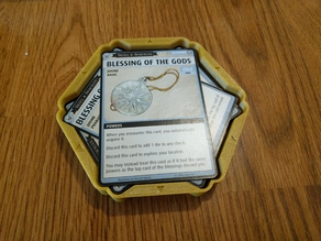 Pathfinder Adventure Card Game (PACG) Blessings Desk Frame