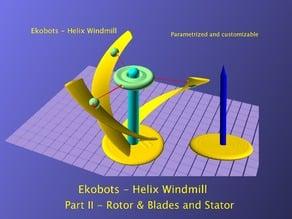 cC - Ekobots - Helix Windmill - Part II