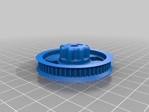 HTD3M wheel for YRUDS extruder