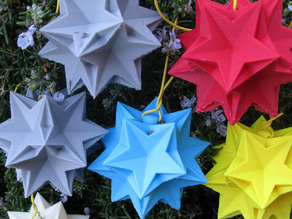Ornament of Ten Tetrahedra