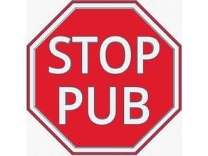 Stop PUB pour boîte aux lettres