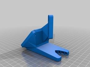 CTC i3 Pro B extruder 60mm fan mount