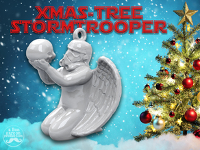 Storm Trooper Xmas Tree-Angel
