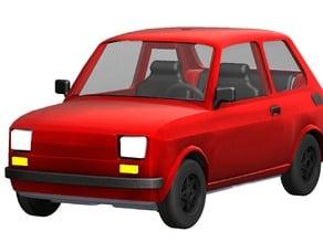 Fiat 126 R/C toy