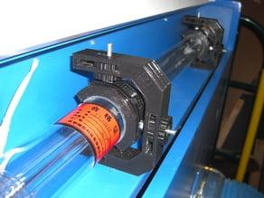 50W Ebay Laser Cutter Tube Hangers