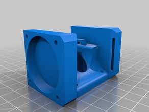 E3D v6 40mm Fan duct