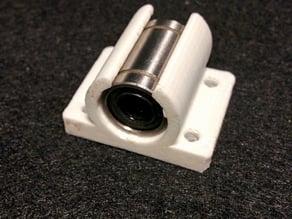 Prusa i3 zonestar LM8UU Y axis bearing mount
