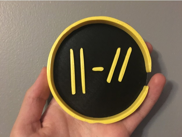 Twenty One Pilots Coaster New Quot Trench Quot Logo By Josieee
