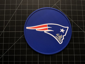 Patriots Coaster Multicolor