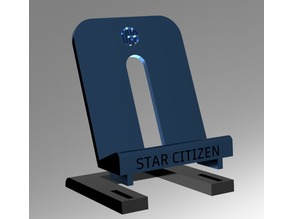 Star Citizen UEE Challenge Coin Stand