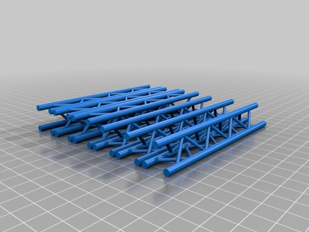 Micro-Crane: Structural Sections by enrohtkcalb - Thingiverse